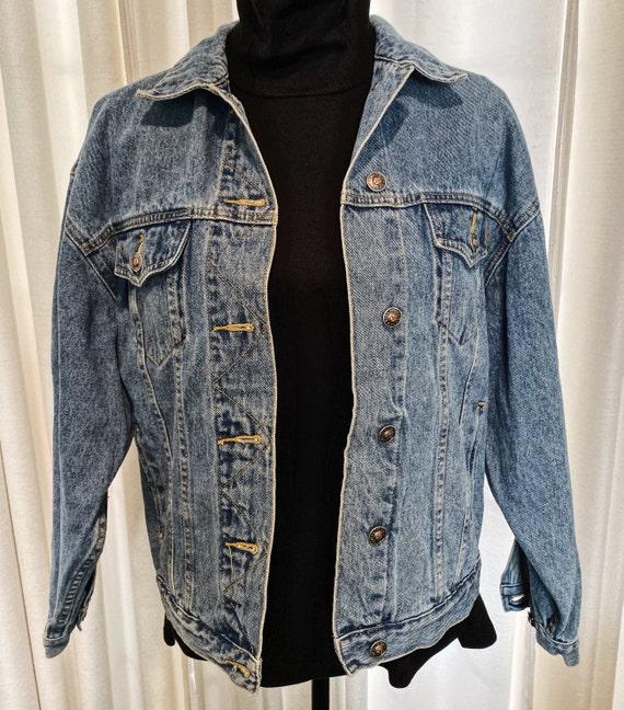 Blue Denim Jacket, Vintage Jacket, Tagged Limited… - image 4