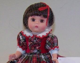 I love my Puppy Madame Alexander doll set w dog