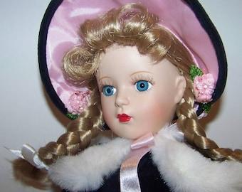 McGuffeyAna Porclain Madame Alexander doll 18 inch