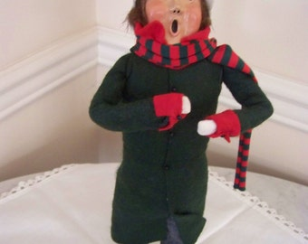 Byers Choice caroler #8Byers Choice
