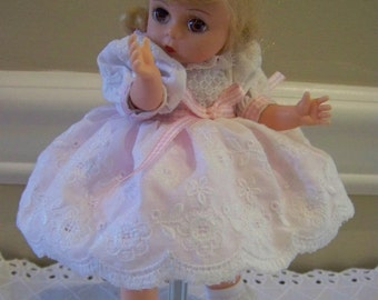 Preety pink madame alexander doll 8 inch