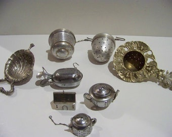 lot of  tes strainers total 8