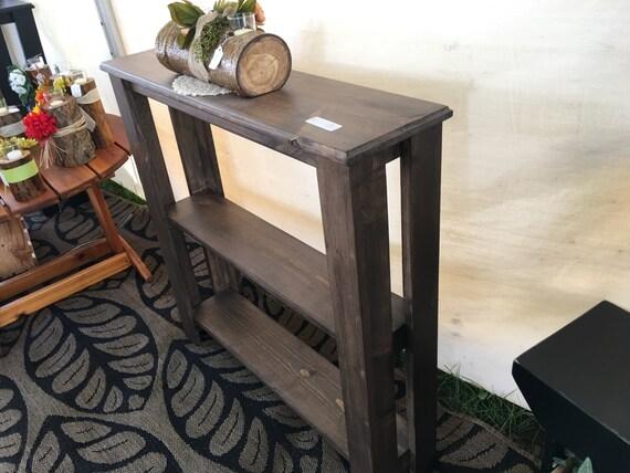 Excellent Rustic Brown Sofa Table Inzonedesignstudio Interior Chair Design Inzonedesignstudiocom