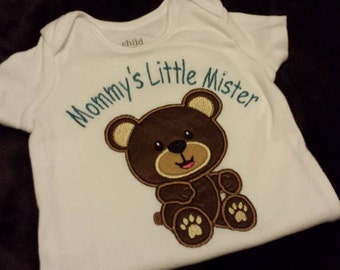 Mommy little mister Shirt