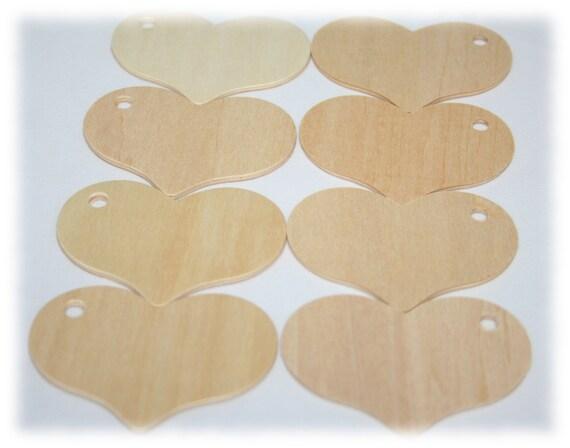 100-bois coeur Tags, bois, bois coeur mariage Etiquettes, étiquettes cadeaux coeur bois, Tags, étiquettes de la Saint-Valentin, mariage coeurs, coeurs bois, artisanat du bois 76726a