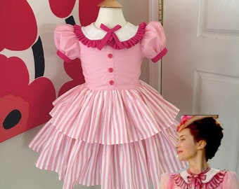 Custom Made to Order MARY POPPINS RETURNS  Inspired dress Sz 12mo to 10Y