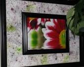 Autumn Reigns Hand Painted Framed Art