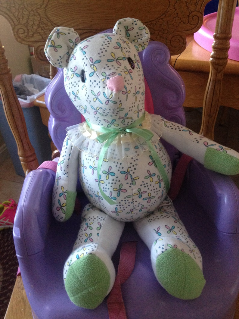Memory Teddy Bear Keepsakes