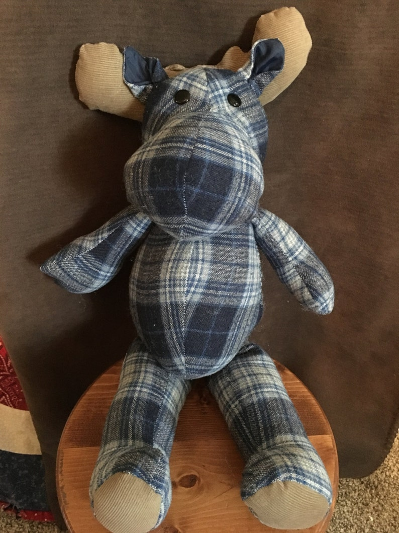 blankets vintage and more Memory Moose Keepsakes made from clothing