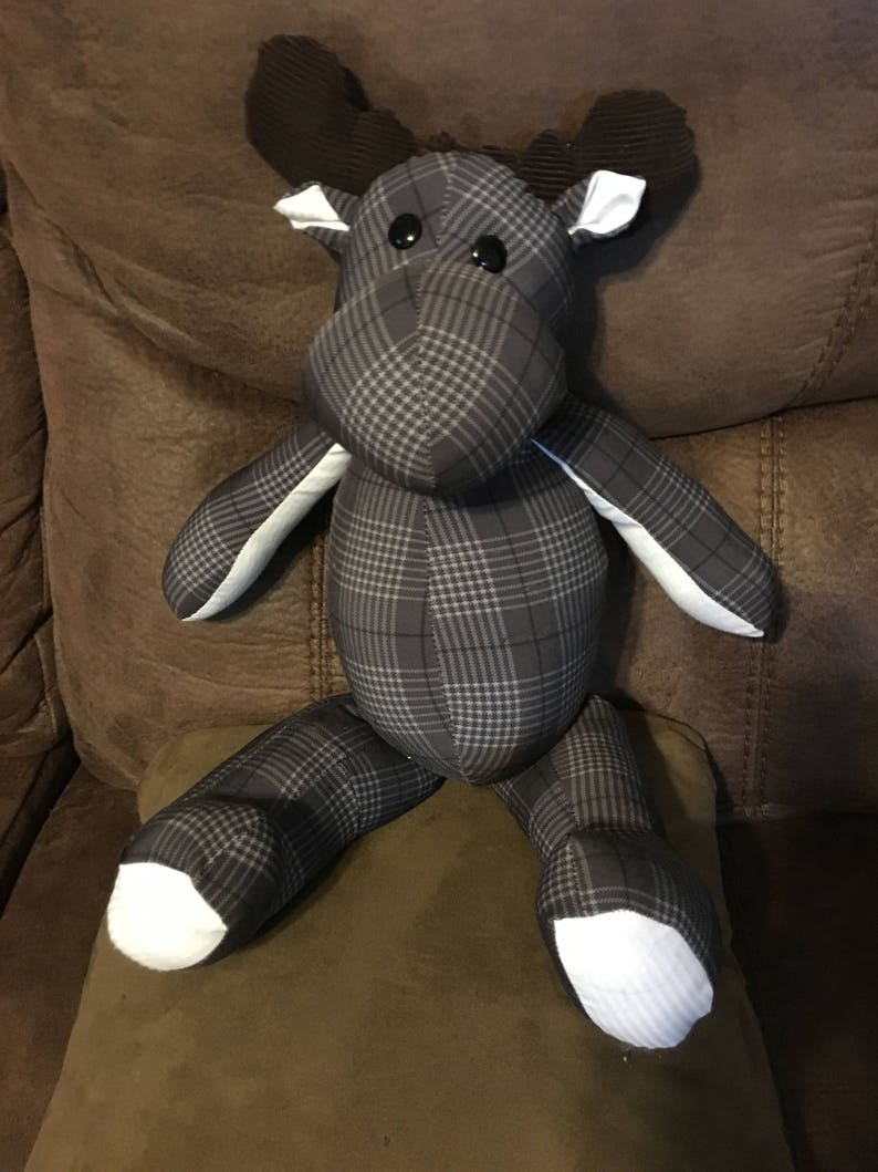 blankets 3-7 Memory Moose Keepsakes made from clothing vintage and more