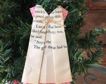 Little House on the Prairie Dress Ornament