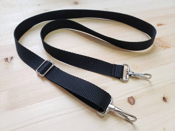 ADD ON/Add an adjustable black nylon crossbody strap to any bag/clutch listed in the shop