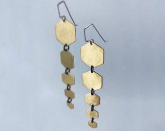 Hexa earrings
