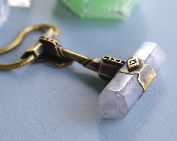 the Starkey Hammer necklace