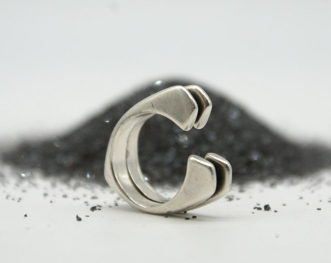 Stacked Lost Wax Ring No. 2