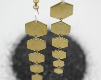Hexa-Hex earrings
