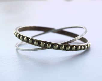 the Dotted Orbit bangle