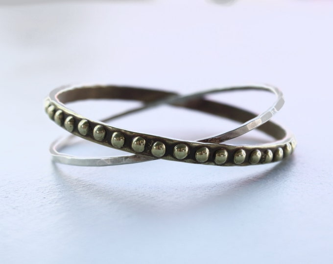 Dotted Orbit bangle