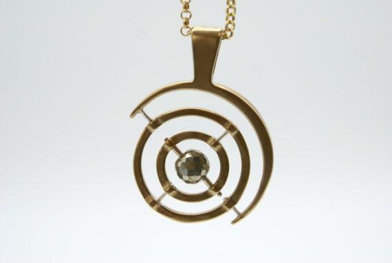 Bronze Gyroscope 5.0 - pyrite