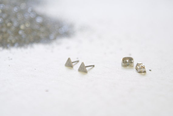 the Silver Triangle stud