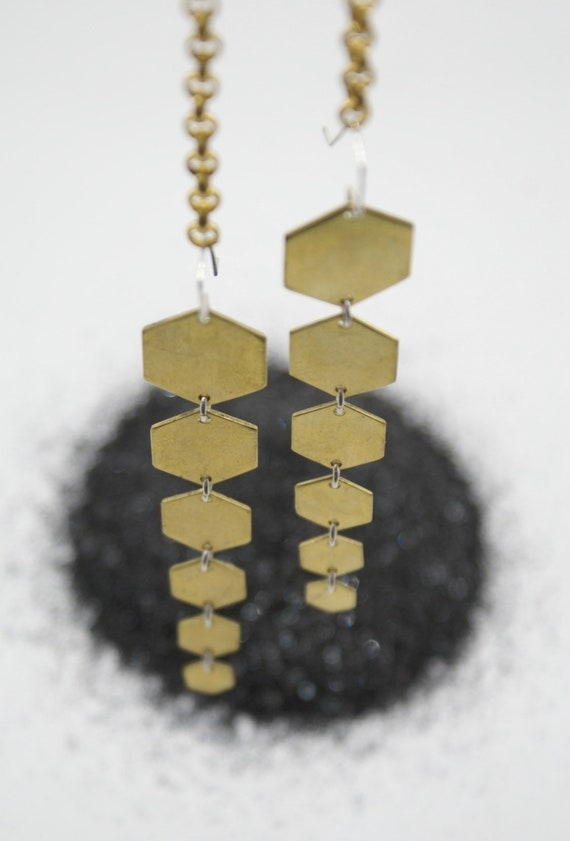 Hexa-Hex earrings