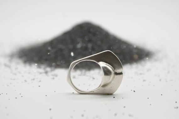 Lost Wax Ring No. 5 - Saturn