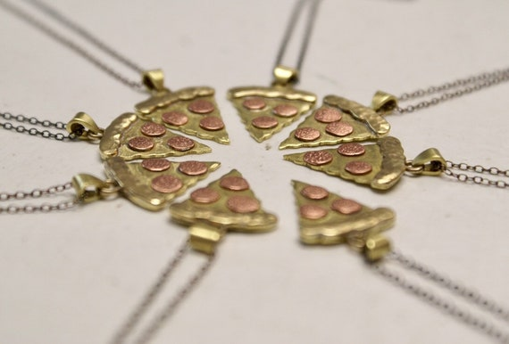 Pizza Slice charm necklace