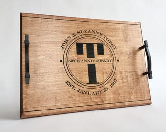engraved wood tray etsy