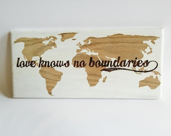 World Map, Travel Map, Adoption, Love Knows No Boundaries, International Love