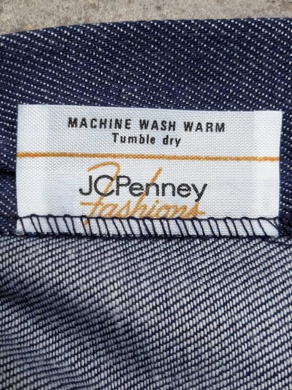 1970s JC Penney Dead-stock Denim Bell Bottoms Mad… - image 6