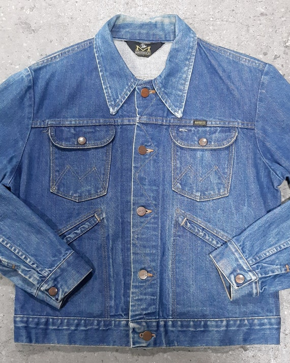 1960s Vintage Maverick Blue Bell Denim Jacket