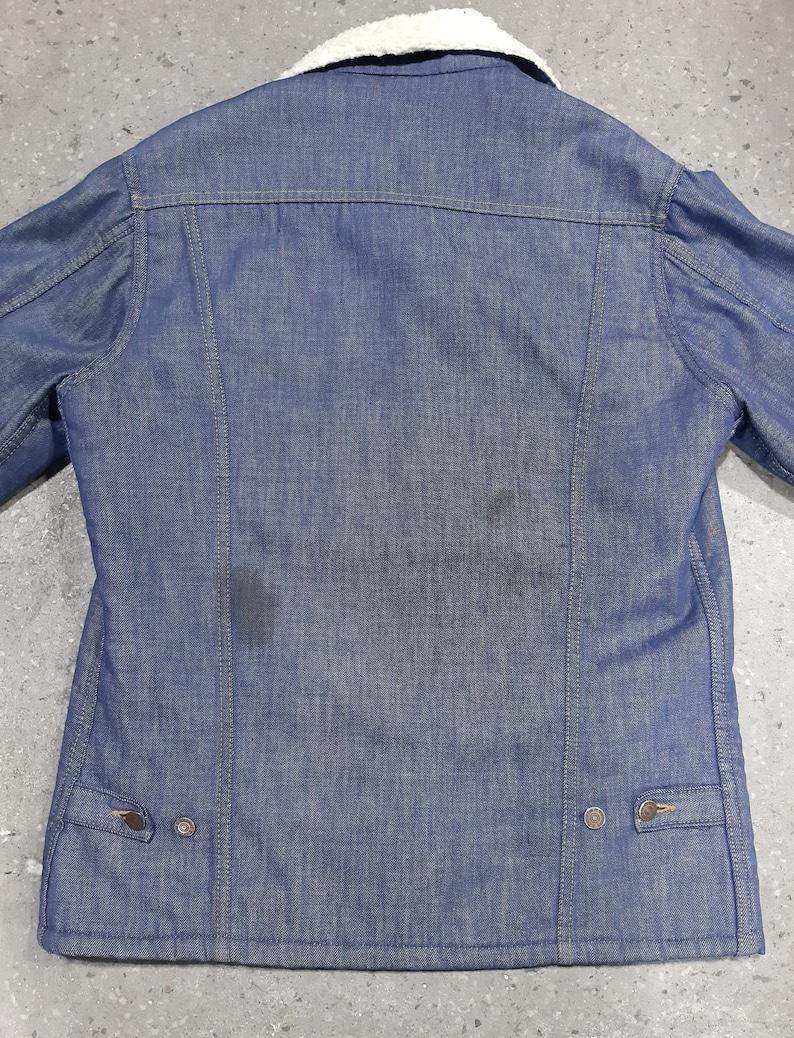 Vintage 1970s Sears Roebucks Sherpa Jacket