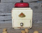 Vintage Coffee Grinder, German Hand Crank Mokka Grinder, Dienes PEDE Coffee Grinder
