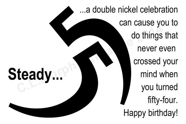 DOWNLOAD 55th Birthday Turning 55 Happy Friend