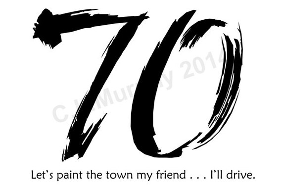 DOWNLOAD 70th Birthday Turning 70 Happy Friend