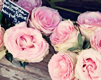 Paris print, wall art canvas, Paris photography, Paris canvas, Paris wall art, canvas art, canvas wall art, large wall art,flower,pink