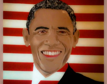 Barack Obama 27x27