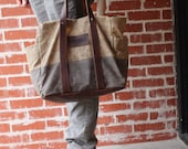 Waxed Canvas Tool Bag
