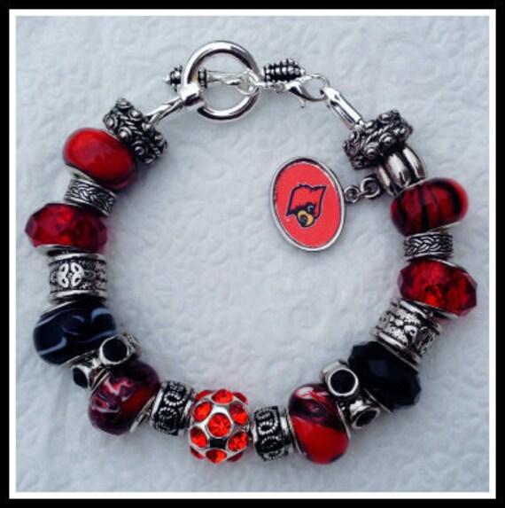 Davinci Charm Bracelet: Items Similar To DaVinci University Of Louisville Cardinal