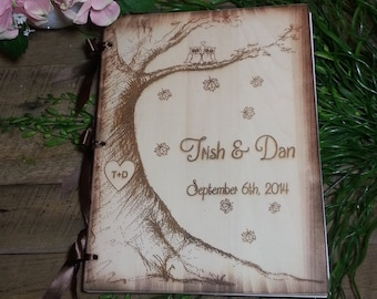 Guest Book, Wedding Guest Book, Personalized Guest Book,Wedding Gift, Anniversary Gift, Bride and Groom,Bridal Shower Book,Photo Album