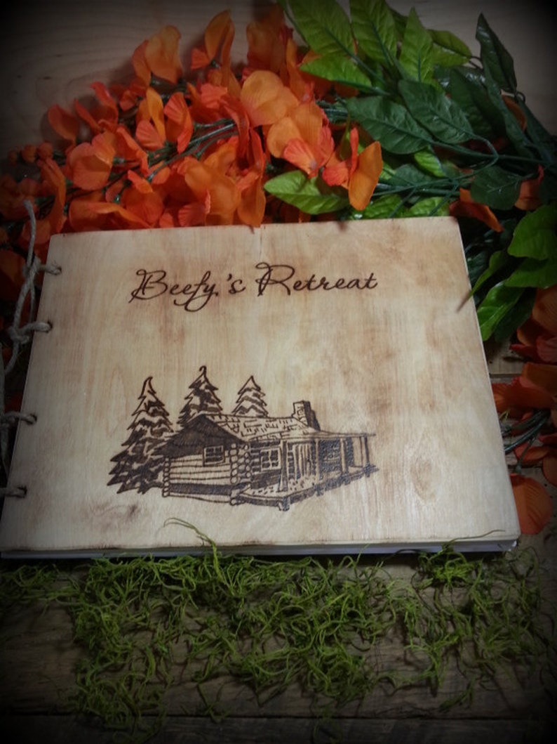 Cabin Guest Book Vacation Rental Book Closing Gift Vrbo image 0