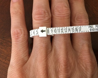 Adjustable Ring Sizer - Reusable Ring Sizing Tool -Ring Sizer - You Choose Shipping Method