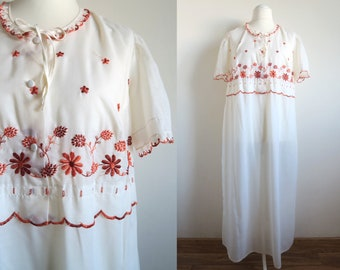 VICTORIAN//EDWARDIAN Nightdress /& Mop Cap COSTUME in ALL PLUS SIZES 18-44