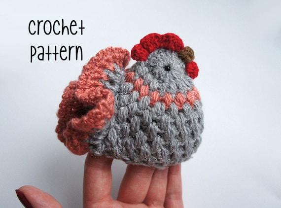 Puffy Crochet Chicken Tutorial By Zofija Easy Crochet Etsy
