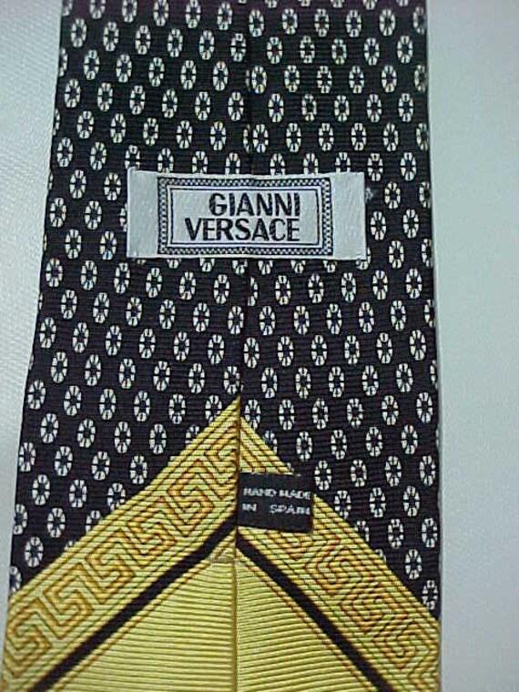 Vintage Gianni Versace Silk Necktie - image 2