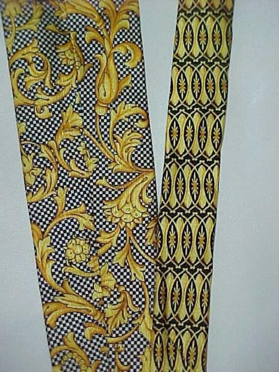 Vintage Gianni Versace Silk Necktie - image 3