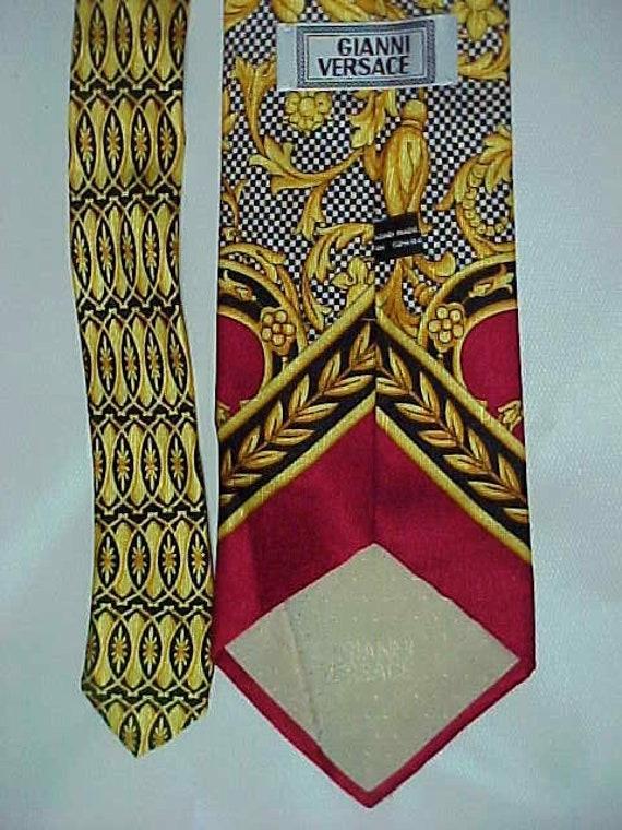 Vintage Gianni Versace Silk Necktie - image 4