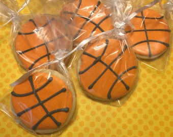 Basketball Cookies (2dozen)