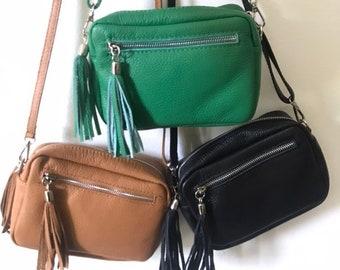 528cccf1cf Sac bandoulière noir ou camel,sac cuir bandoulière,sac à main cuir,sac cuir  femme,sac besace cuir,sac à main,evening leather bag,boho bag