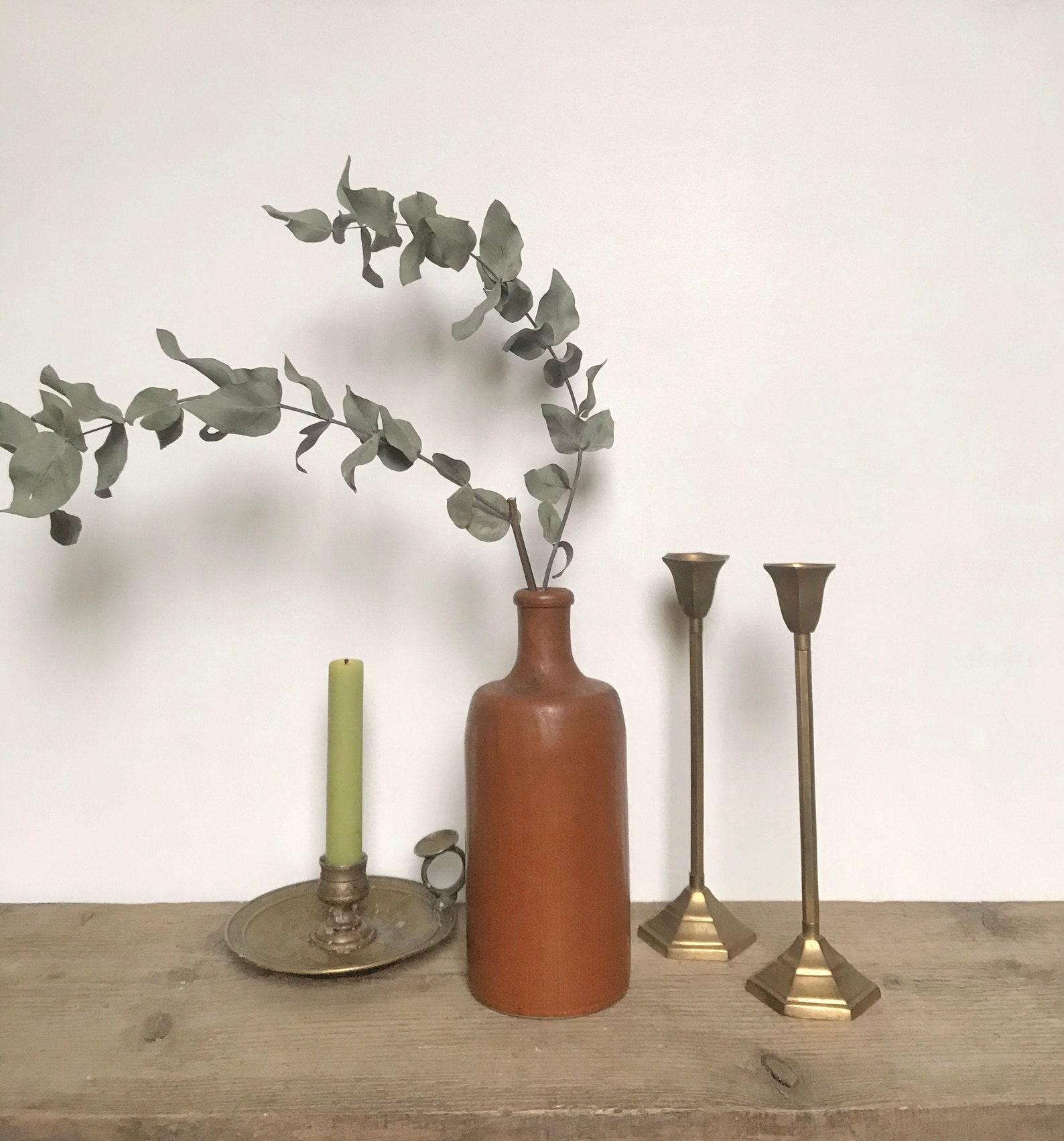 Soliflore en grès terracotta - Etsy